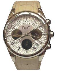 Dolce & Gabbana Silver Steel Watch - Metallic