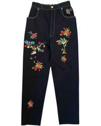 Christian Lacroix Straight Jeans - Black