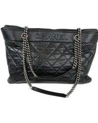Chanel - Pre-owned Grand Shopping Leather Crossbody Bag - Lyst