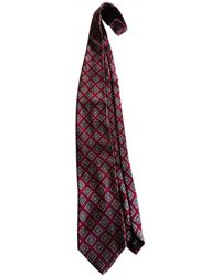 Burberry Wool Tie - Multicolour