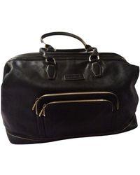 Longchamp Sac de voyage Légende en cuir - Noir