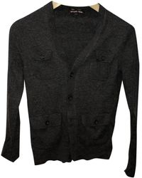 Michael Kors Wool Cardigan - Grey
