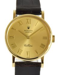 Rolex Cellini Yellow Gold Watch - Metallic