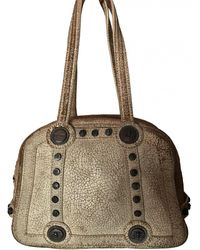 John Galliano Leather Handbag - Natural