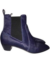 Marc By Marc Jacobs - Pony-style Calfskin Ankle Boots - Lyst