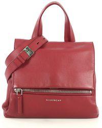 Givenchy - Pandora Red Leather Handbag - Lyst