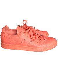 adidas Stan Smith Leder Sneakers - Orange