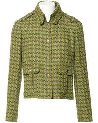 Chanel - Pre-owned Silk Blazer - Lyst