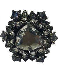 Lanvin - Pre-owned Silver Metal Rings - Lyst