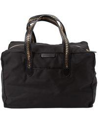 Stella McCartney Black Cloth Travel Bag
