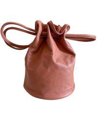 Mansur Gavriel Leder Handtaschen - Pink