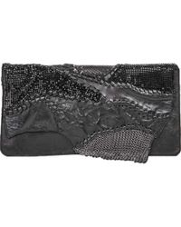 Balmain | Pre-owned Leather Clutch Purse | Lyst