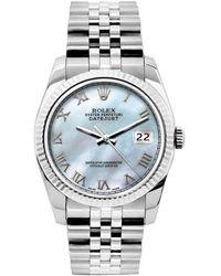 Rolex Lady Datejust 26mm Uhren - Blau