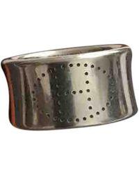 Hermès Eclipse Silber Ringe - Mettallic