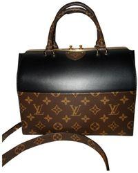 Louis Vuitton Bolsa de mano en cuero negro Speedy Doctor 25
