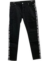 Balmain Jeans in cotone - elastan nero