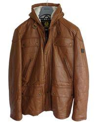 Belstaff Leather Jacket - Brown