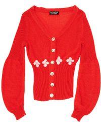 Sonia by Sonia Rykiel - Red Synthetic Knitwear - Lyst