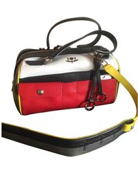 Zadig & Voltaire Leather Bowling Bag - Multicolour