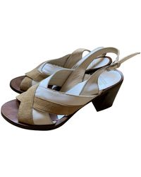 Maryam Nassir Zadeh Leather Sandals - Natural