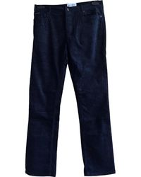 Zadig & Voltaire - Pre-owned Black Cotton Trousers - Lyst