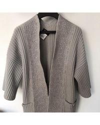 Chanel Jersey en cachemira gris