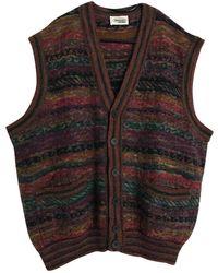 Missoni Wolle Weste - Mehrfarbig