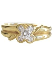 Van Cleef & Arpels - Pre-owned Yellow Gold Ring - Lyst
