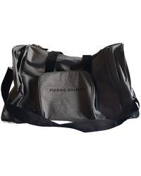 Balmain Travel Bag - Gray