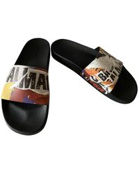 Balmain Multicolour Rubber Sandals