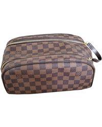 Louis Vuitton Cloth Small Bag - Brown