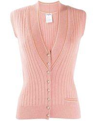 Chanel Kaschmir Cardigan - Pink