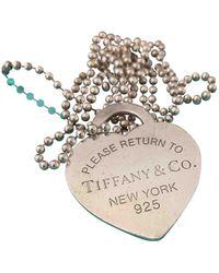 Tiffany & Co. Collier Return to Tiffany in Argento - Multicolore