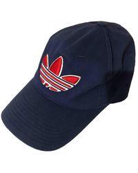 adidas Hüte mützen - Blau