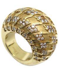 Dior Anillo en oro amarillo dorado - Metálico