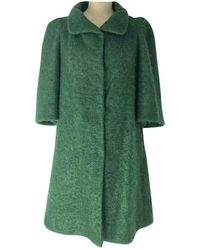 Marni Abrigo en lana verde