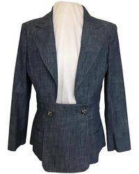 Chanel Suit Jacket - Blue