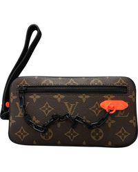 Louis Vuitton Volga Brown Cloth Bag