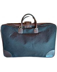 Loewe Cloth Travel Bag - Brown