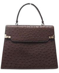 Lancel Vogelstrauß Handtaschen - Braun
