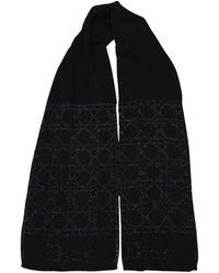 Dior Wolle Schals - Schwarz