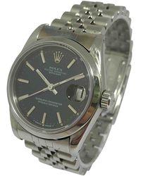 Rolex Datejust 31mm Uhren - Schwarz