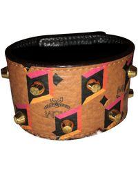 MCM Leather Bracelet - Multicolour