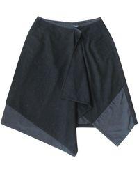 IRO Black Wool Skirt
