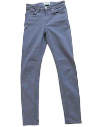 Acne Studios Grey Cotton - Elasthane Jeans Skin 5
