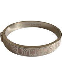 Marc By Marc Jacobs Silver Silver Bracelet - Metallic