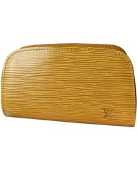 Louis Vuitton Leder Vanity - Gelb