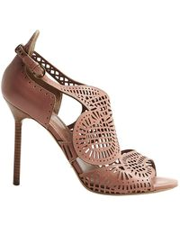 Sergio Rossi - Pink Leather - Lyst