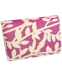 Diane von Furstenberg Leather Purse - Pink