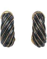 Cartier Boucles d'oreilles en Or jaune - Métallisé